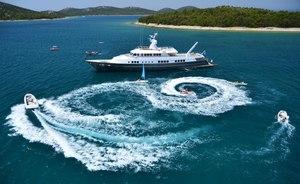 Superyacht BERZINC offers special Ibiza charter deal