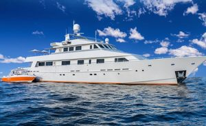 Charter Yacht LIONSHARE Completes Extensive Refit
