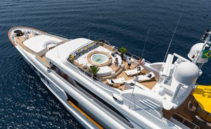 Superyacht BINA Open for Christmas Charters in the Caribbean