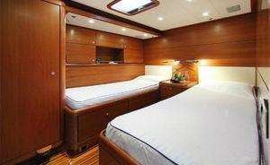 Sailing Yacht MUZUNI has Charter Availability