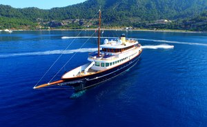 Caribbean yacht charters available with superyacht CLARITY this winter