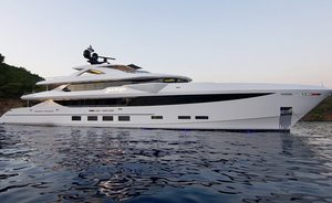 New England charter special: last-minute availability for brand new 184ft (56m) motor yacht BABA'S