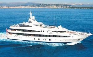 Charter Yacht NATITA On Display in Miami's Brand New Marina This Week