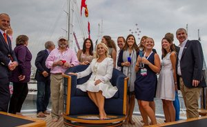 Maltese Falcon Wins First Baccarat SuperYacht World Trophy