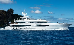 55m Amels superyacht DRIFTWOOD offers Costa Rica luxury charters