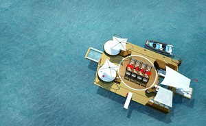 A Superyacht's Own Floating Island - The Next Industry Innovation?