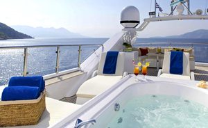 Greece yacht charters available now with 37m luxury yacht IDYLLE