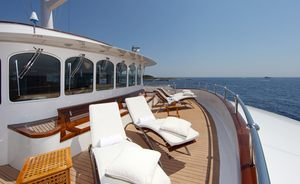Charter Superyacht SHERAKHAN For Charity This Winter