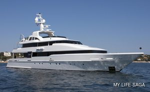 Brand new to the fleet: 42m motor yacht LIFE SAGA now available for charter
