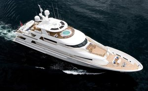 Motor Yacht 'Far Niente' Heads to St Lucia for Caribbean Charters
