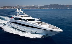 Last chance to book Mediterranean yacht charter onboard 44m MY JEMS