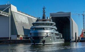 68m explorer yacht RAGNAR begins sea trials
