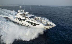 Brand New Sunseeker Superyacht FLEUR Available For Charter