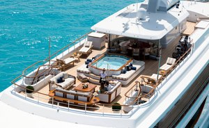 Superyacht KATHARINE opens for Virgin Islands yacht charters
