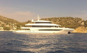Golden Yachts superyacht 'My Eden' joins Greek charter market