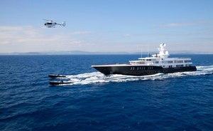 Christmas Charter Availability on Superyacht AIR