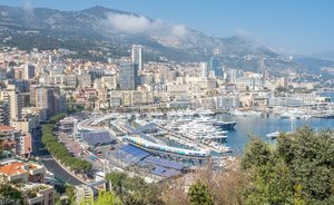 Superyachts migrate from Cannes to the 2018 Monaco Grand Prix
