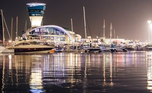 Yas Marina Welcomes Record Fleet of Superyachts for Abu Dhabi GP Weekend