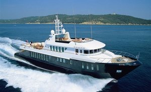 Superyacht CAPRICORN Offers Christmas Charter Vacation in St. Barts