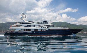 50m motor yacht JO I offers Mediterranean charter discount