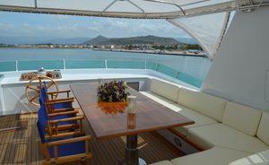 Luxury Motor Yacht CAMELLIA Offering East Mediterranean Charters