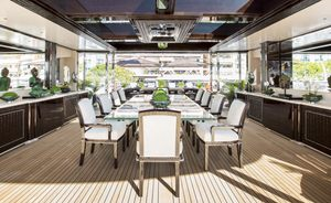 Special January Charter Rates on Superyacht 'Illusion V'