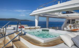 Superyacht KATINA announces charter availability in the Caribbean