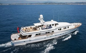 Newly Refitted Motor Yacht FIORENTE Returns To Charter Market