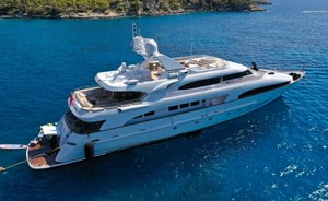 Greece charter special: last-minute availability for 44.5m motor yacht LADY G II