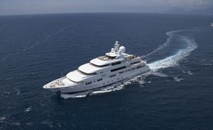 Superyacht TITANIA Available in the Maldives this Winter