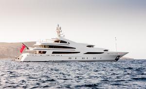 Mediterranean charter special aboard 60m luxury yacht ST DAVID