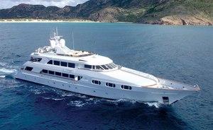 Bahamas charter special: last-minute availability for 46m superyacht ATTITUDE