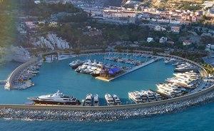 Brand new superyacht marina close to Monaco opens its doors