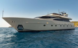 Greece yacht charter special: luxury yacht ANAMEL offers 2020 discount