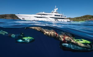 Amels superyacht DRIFTWOOD enters the charter market