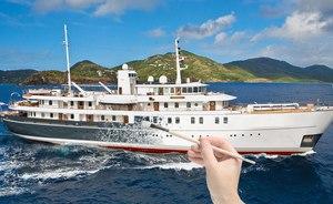 Iconic Superyacht SHERAKHAN Undergoing Exciting Refit