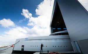 First glimpse of Feadship superyacht 'Project 816'