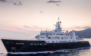 72m superyacht 'Bleu De Nimes' announces discount for yacht charter in the Indian Ocean