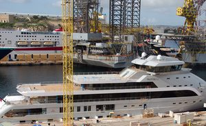 88.5m explorer yacht 'Olivia O' relaunched after outfitting
