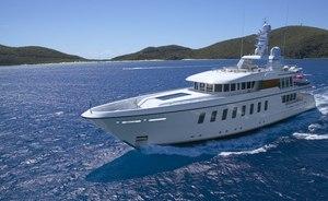 Feadship superyacht GLADIATOR joins global charter fleet