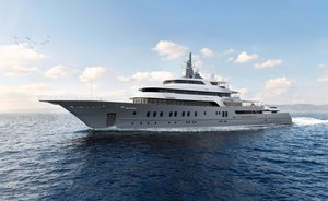 Brand new 85m superyacht VICTORIOUS joins the charter fleet