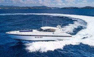 Motor yacht 'Minu Luisa' offers 20% discount on Mediterranean charter deal