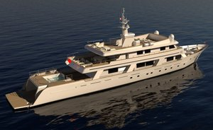 Superyacht COMMITMENT undergoing comprehensive refit and renamed 'Number Nine'