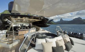 Celebrate Thanksgiving on board luxury yacht VANTAGE in the Bahamas