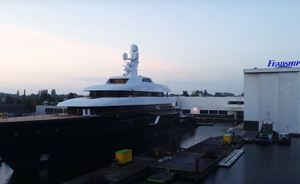 Incredible time-lapse video shows the build of brand new 87m Feadship superyacht LONIAN