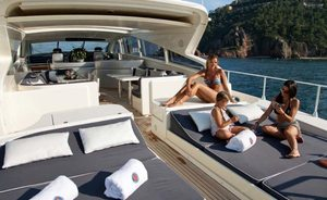 Enjoy a Greece yacht charter with no delivery fees on board superyacht 'Romachris II'