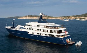 Italian Riviera charter special: last-minute availability for 63m explorer yacht FORCE BLUE