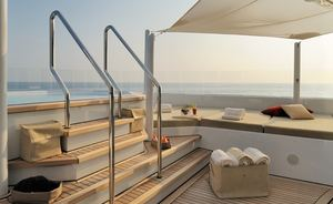 Charter Motor Yacht  ARKLEY in the MED this Summer
