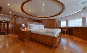 Charter Yacht BLUE VISION Available in the Mediterranean this Summer