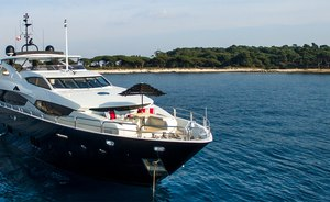 Sunseeker Superyacht EMOJI Opens for Charter in France and Italy